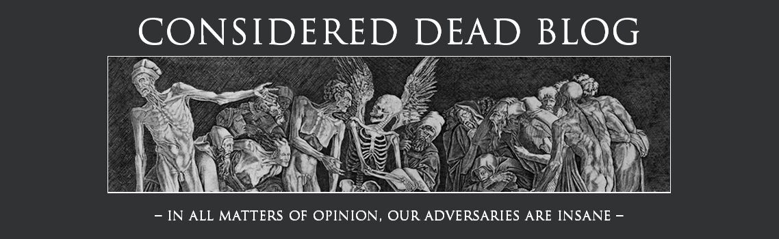 Considered Dead metal blog
