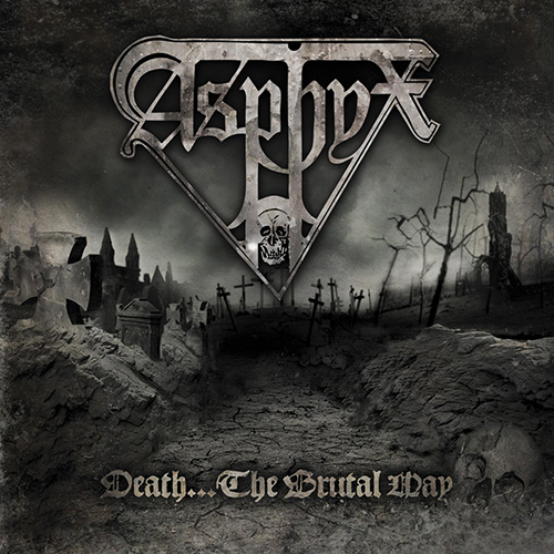 Asphyx - Death... The Brutal Way recenzja okładka review cover