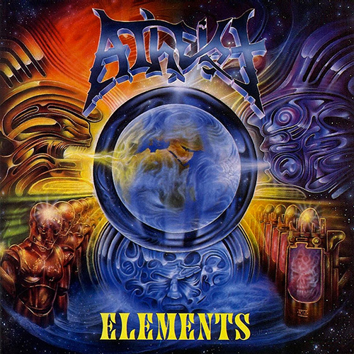 Atheist - Elements recenzja okładka review cover