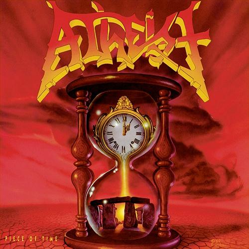 Atheist - Piece Of Time recenzja okładka review cover