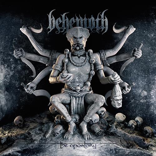 Behemoth - The Apostasy recenzja okładka review cover