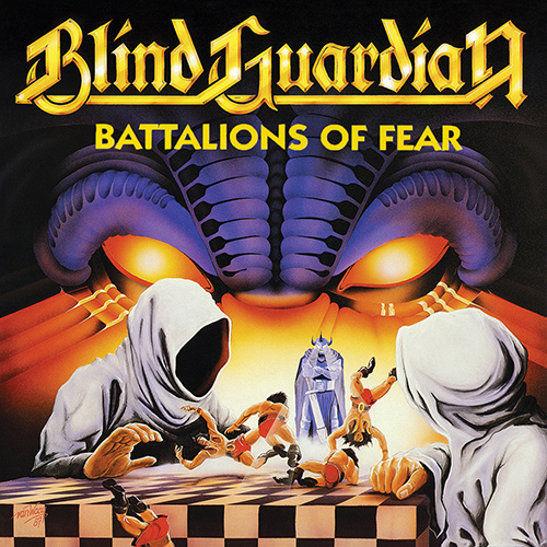 Blind Guardian - Battalions Of Fear recenzja okładka review cover