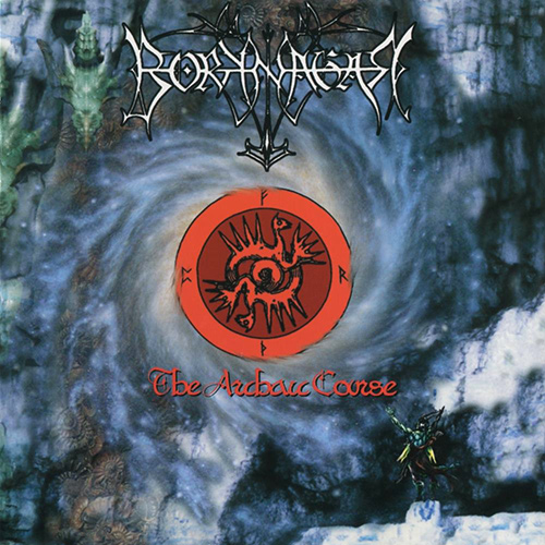 Borknagar - The Archaic Course recenzja okładka review cover