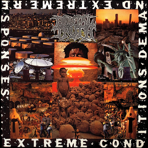 Brutal Truth - Extreme Conditions Demand Extreme Responses recenzja okładka review cover