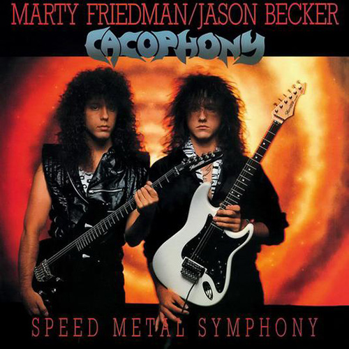 Cacophony - Speed Metal Symphony recenzja okładka review cover