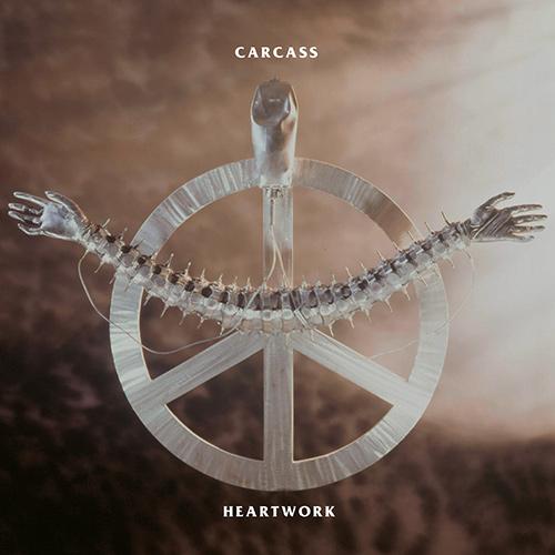 Carcass - Heartwork recenzja okładka review cover