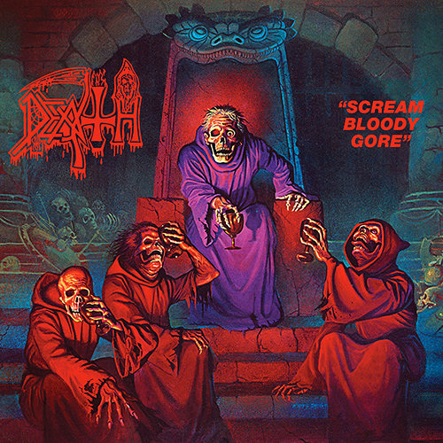 Death - Scream Bloody Gore recenzja okładka review cover