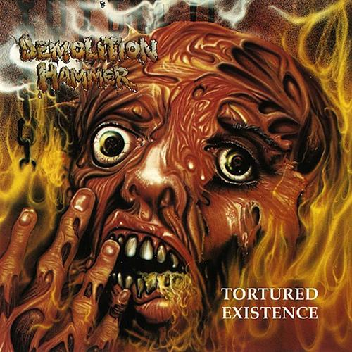 Demolition Hammer - Tortured Existence recenzja okładka review cover