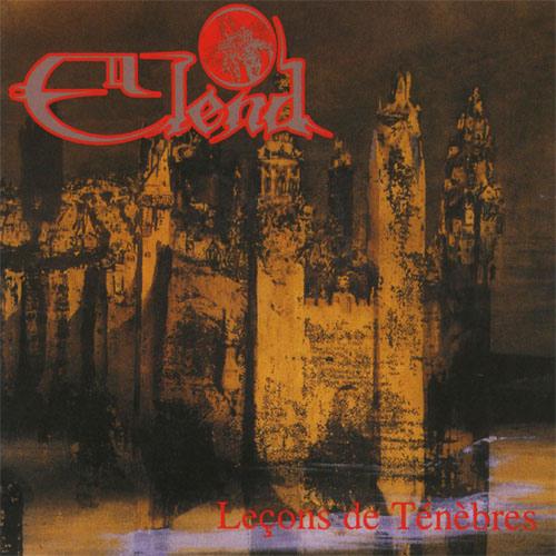 Elend - Leçons de Ténebres recenzja okładka review cover