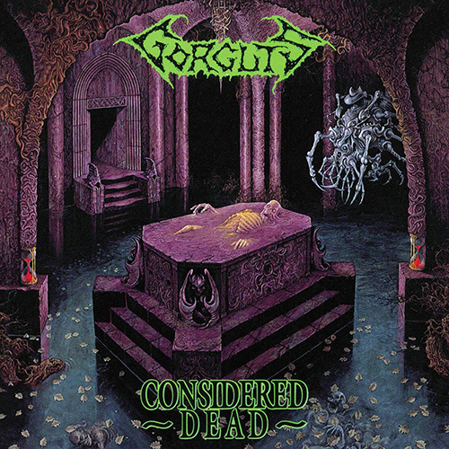 Gorguts - Considered Dead recenzja okładka review cover