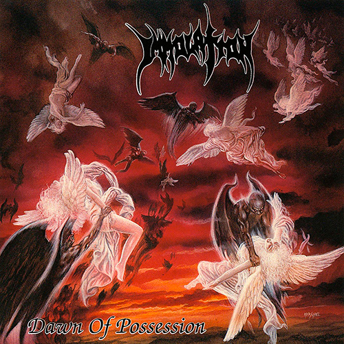 Immolation - Dawn Of Possession recenzja okładka review cover