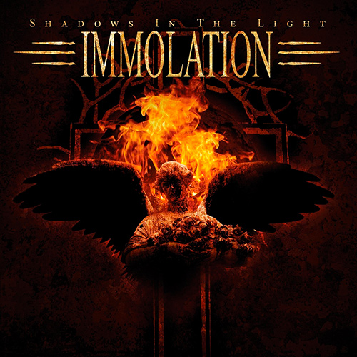 Immolation - Shadows In The Light recenzja okładka review cover