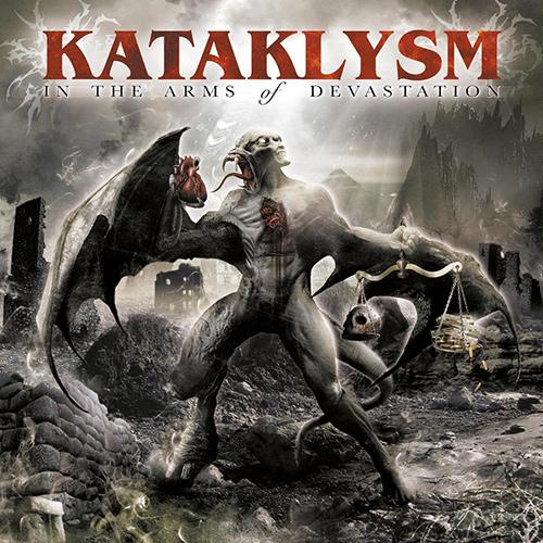 Kataklysm - In The Arms Of Devastation recenzja okładka review cover