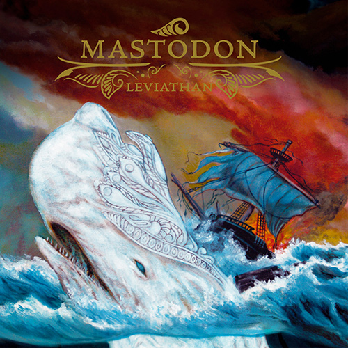 Mastodon - Leviathan recenzja okładka review cover
