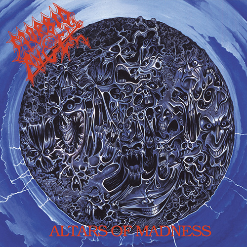 Morbid Angel - Altars Of Madness recenzja okładka review cover