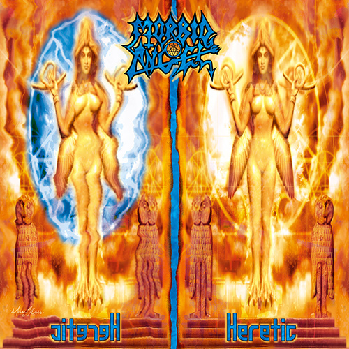 Morbid Angel - Heretic recenzja okładka review cover