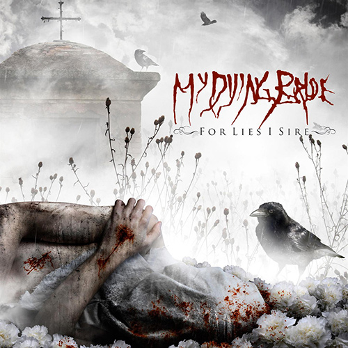My Dying Bride - For Lies I Sire recenzja okładka review cover