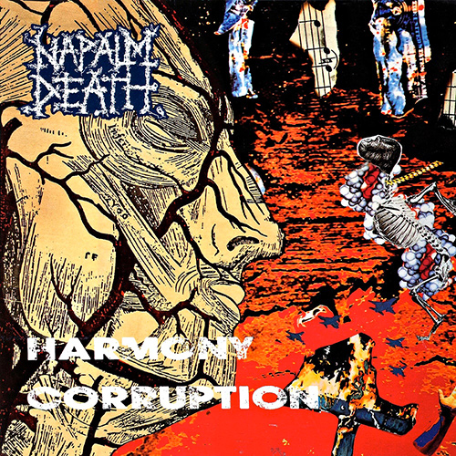 Napalm Death - Harmony Corruption recenzja okładka review cover