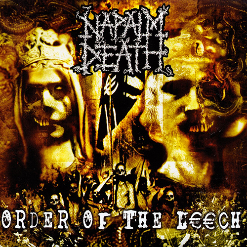 Naplam Death - Order Of The Leech recenzja okładka review cover
