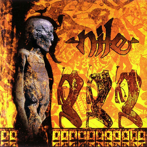 Nile - Amongst The Catacombs Of Nephren-Ka recenzja okładka review cover