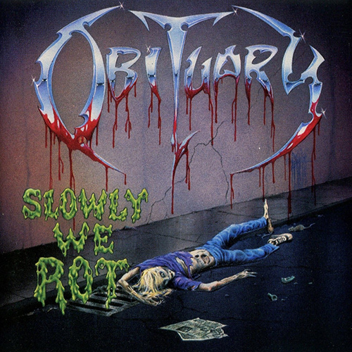 Obituary - Slowly We Rot recenzja okładka review cover