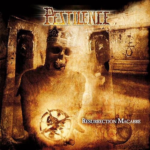 Pestilence - Resurrection Macabre recenzja okładka review cover