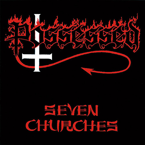 Possessed - Seven Churches recenzja okładka review cover