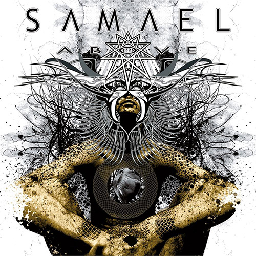 Samael - Above recenzja okładka review cover
