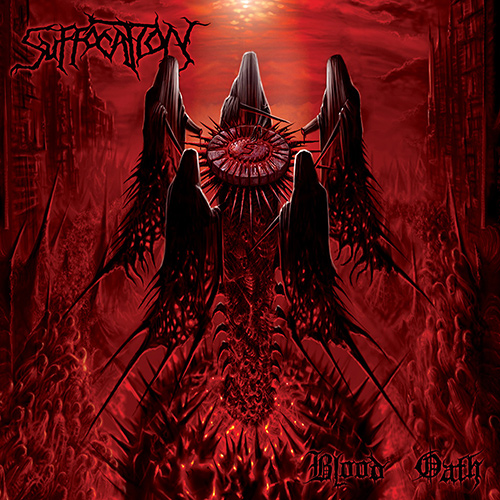 Suffocation - Blood Oath recenzja okładka review cover