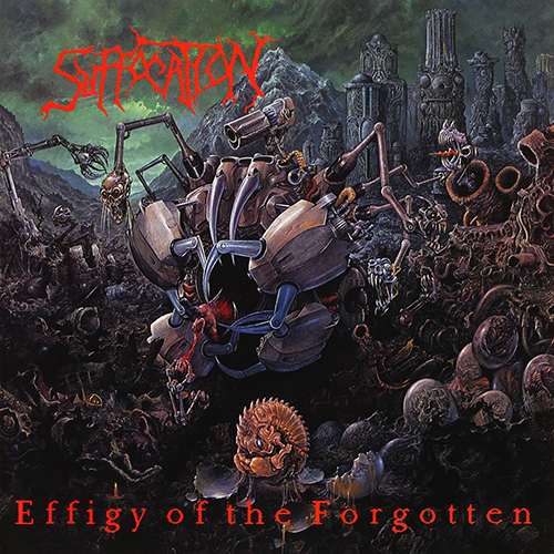 Suffocation - Effigy Of The Forgotten recenzja okładka review cover