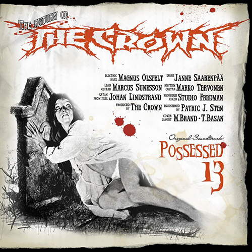 The Crown - Possessed 13 recenzja okładka review cover