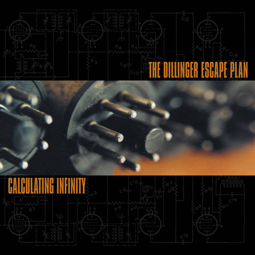 The Dillinger Escape Plan - Calculating Infinity recenzja okładka review cover