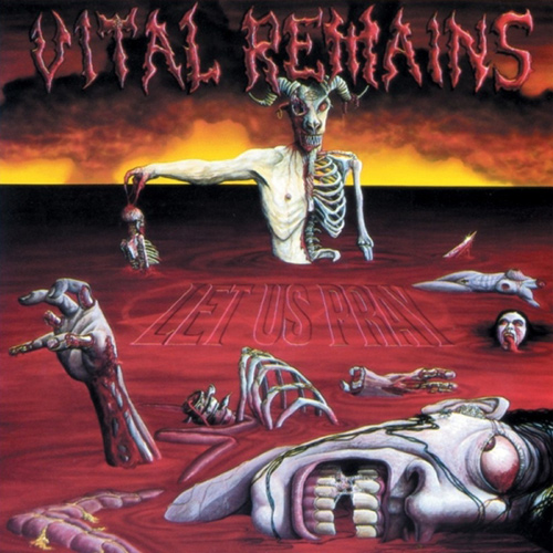 Vital Remains - Let Us Pray recenzja okładka review cover