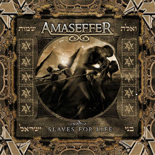 Amaseffer - Slaves For Life recenzja okładka review cover