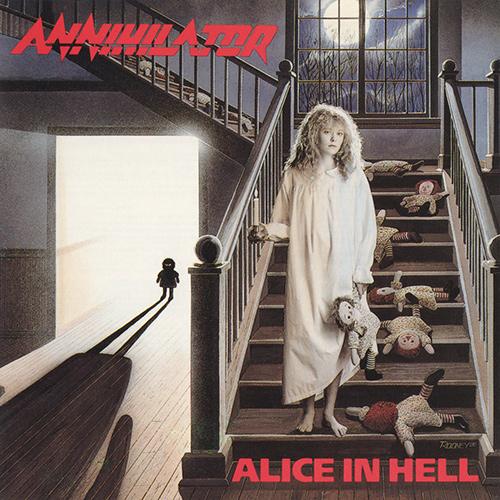 Annihilator - Alice In Hell recenzja okładka review cover