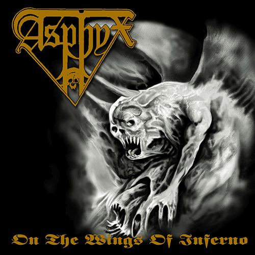 Asphyx - On The Wings Of Inferno recenzja okładka review cover