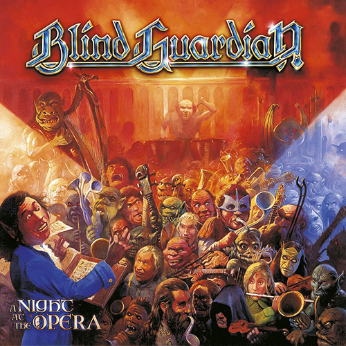Blind Guardian - A Night At The Opera recenzja okładka review cover