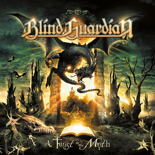 Blind Guardian - A Twist In The Myth recenzja okładka review cover