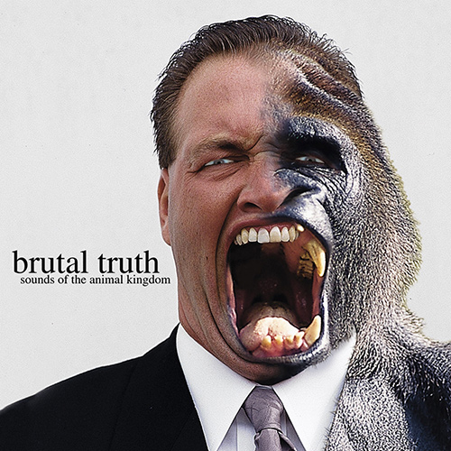 Brutal Truth - Sounds Of The Animal Kingdom recenzja okładka review cover