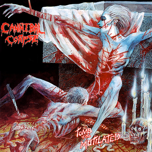 Cannibal Corpse - Tomb Of The Mutilated recenzja okładka review cover