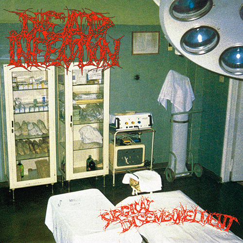 Dead Infection - Surgical Disembowlment recenzja okładka review cover