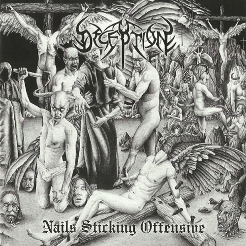 Deception - Nails Sticking Offensive recenzja okładka review cover