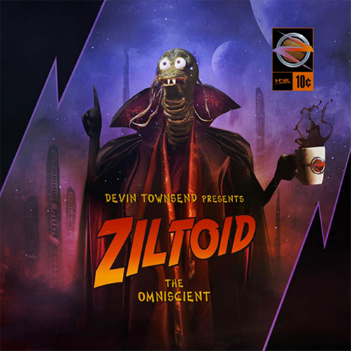Devin Townsend - Ziltoid The Omniscient recenzja okładka review cover