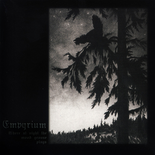Empyrium - Where At Night The Wood Grouse Plays recenzja okładka review cover