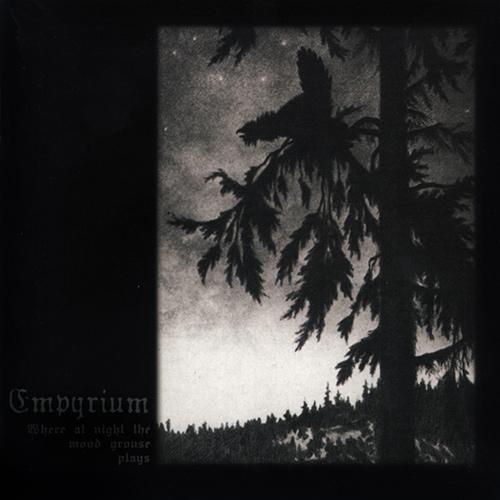 Empyrium - Where At Night The Wood Grouse Plays recenzja okładka review cover