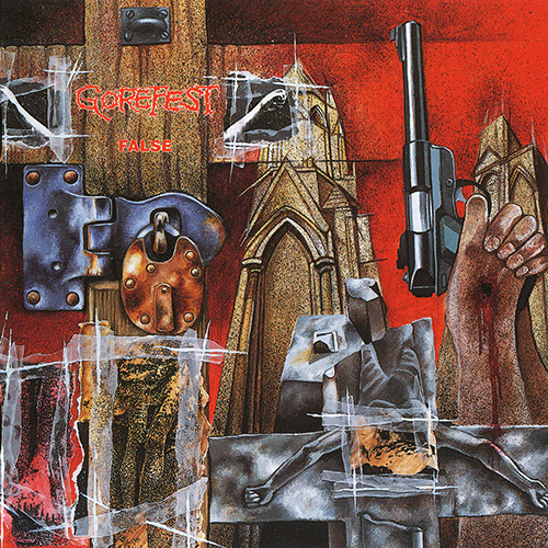 Gorefest - False recenzja okładka review cover