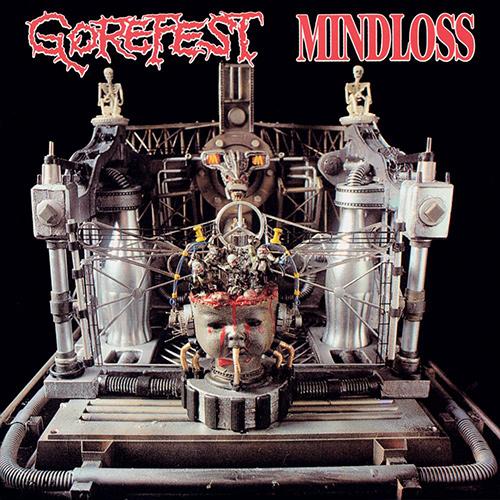 Gorefest - Mindloss recenzja okładka review cover