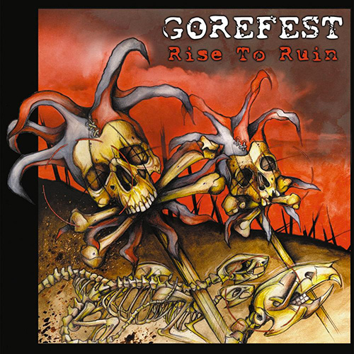 Gorefest - Rise To Ruin recenzja okładka review cover