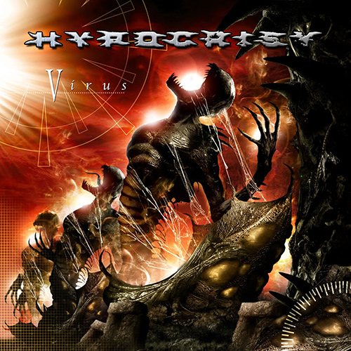 Hypocrisy - Virus recenzja okładka review cover