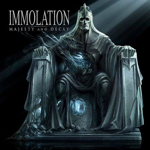 Immolation - Majesty And Decay recenzja okładka review cover